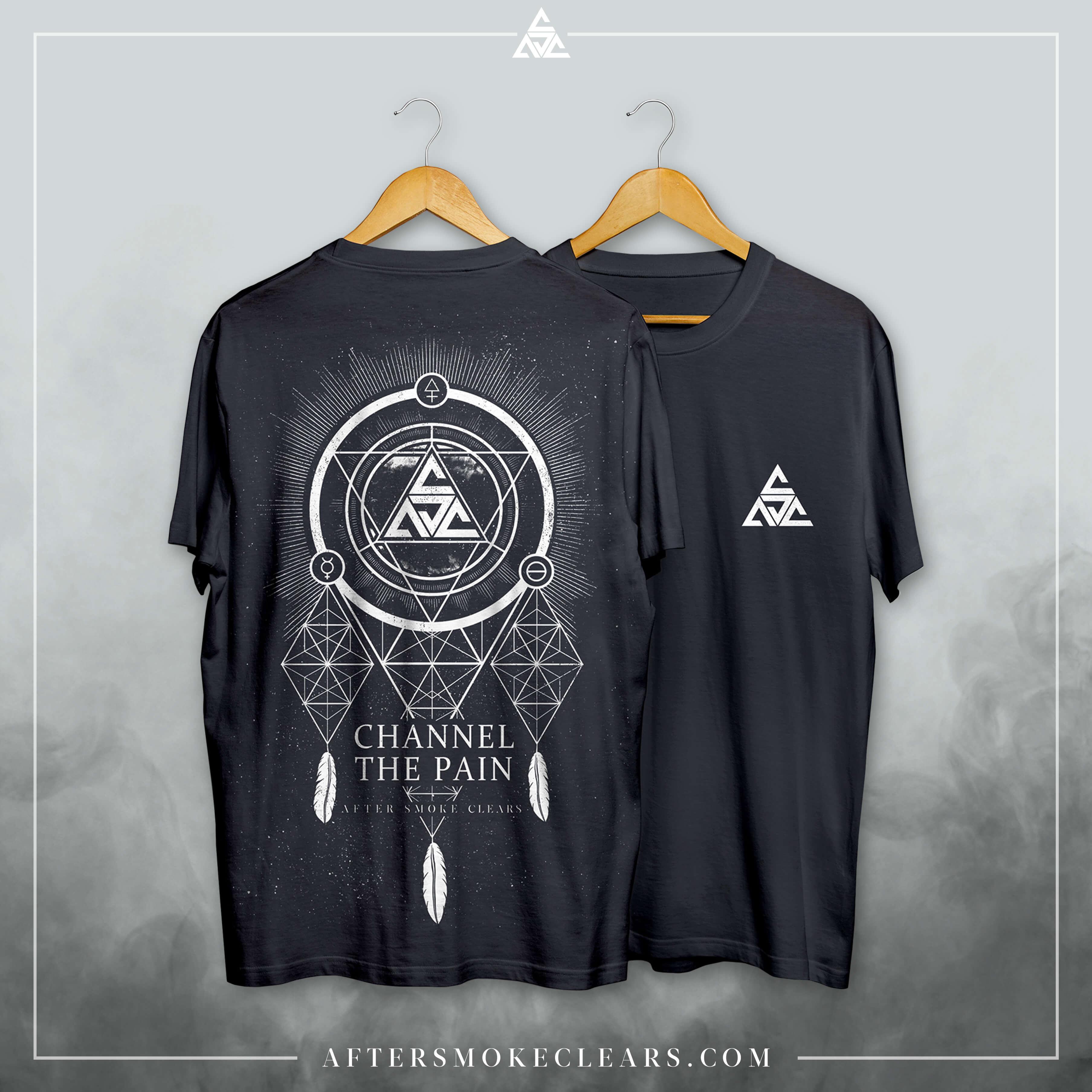 'Beta To Gamma' - Black T-shirt